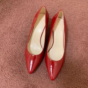 Cole Haan red heels